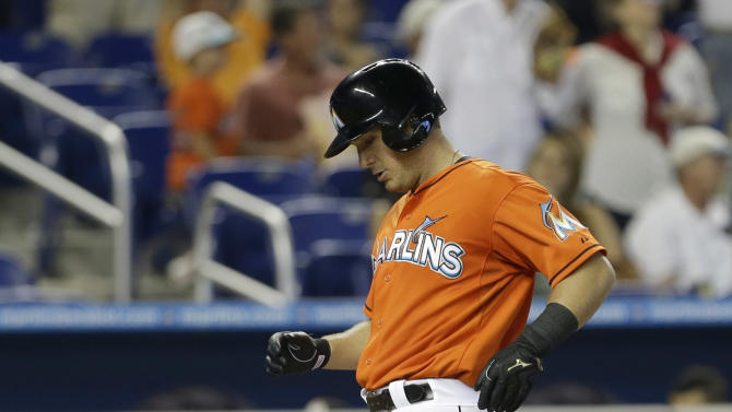 Mathis' RBI double in 8th lifts Marlins