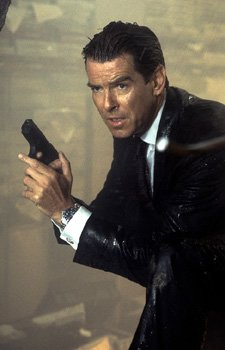 Pierce Brosnan as Bond, James Bond, in MGM's The World Is Not Enough