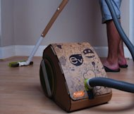 The &#39;world&#39;s first&#39; cardboard vacuum cleaner, the Vax Ev