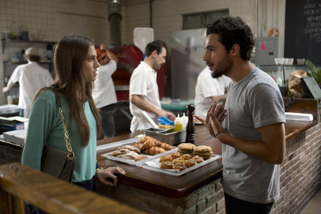 "Allison Williams and Chris Abbott in the ""Girls"" Season 2 episode, ""Together."""