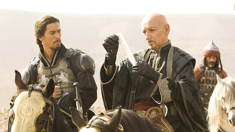 Prince of Persia the sands of time Walt Disney Pictures 2010 Toby Kebbell Ben Kingsley