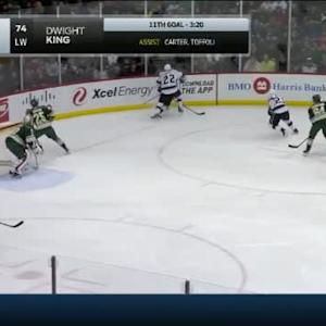 Trevor Lewis Hit on Ryan Suter (03:33/2nd)