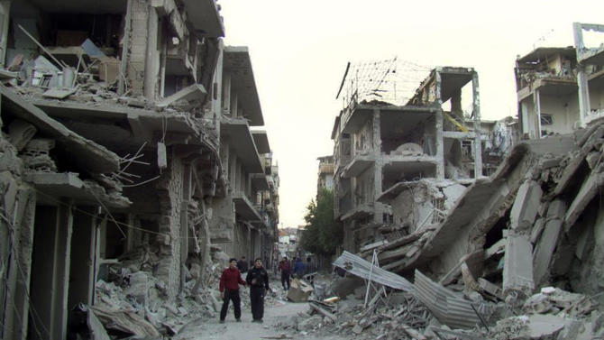 Internet service goes out across Syria