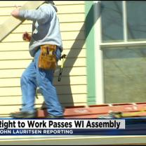 Wisconsin Passes Right-To-Work Bill