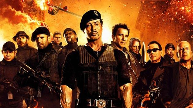 The cast of 'The Expendables 2' -- Lionsgate