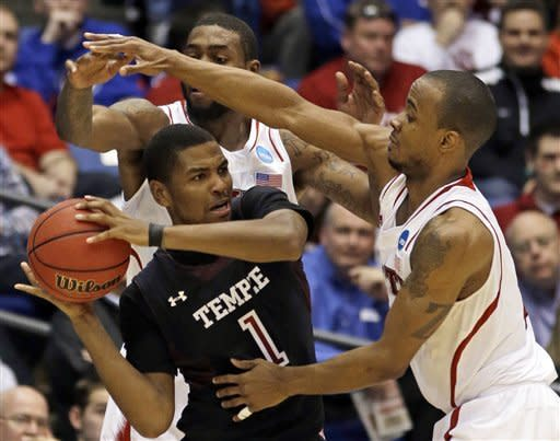 Injured Wyatt leads Temple over NC State 76-72
