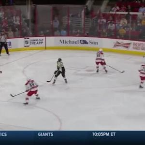 Cam Ward Save on Beau Bennett (02:14/2nd)