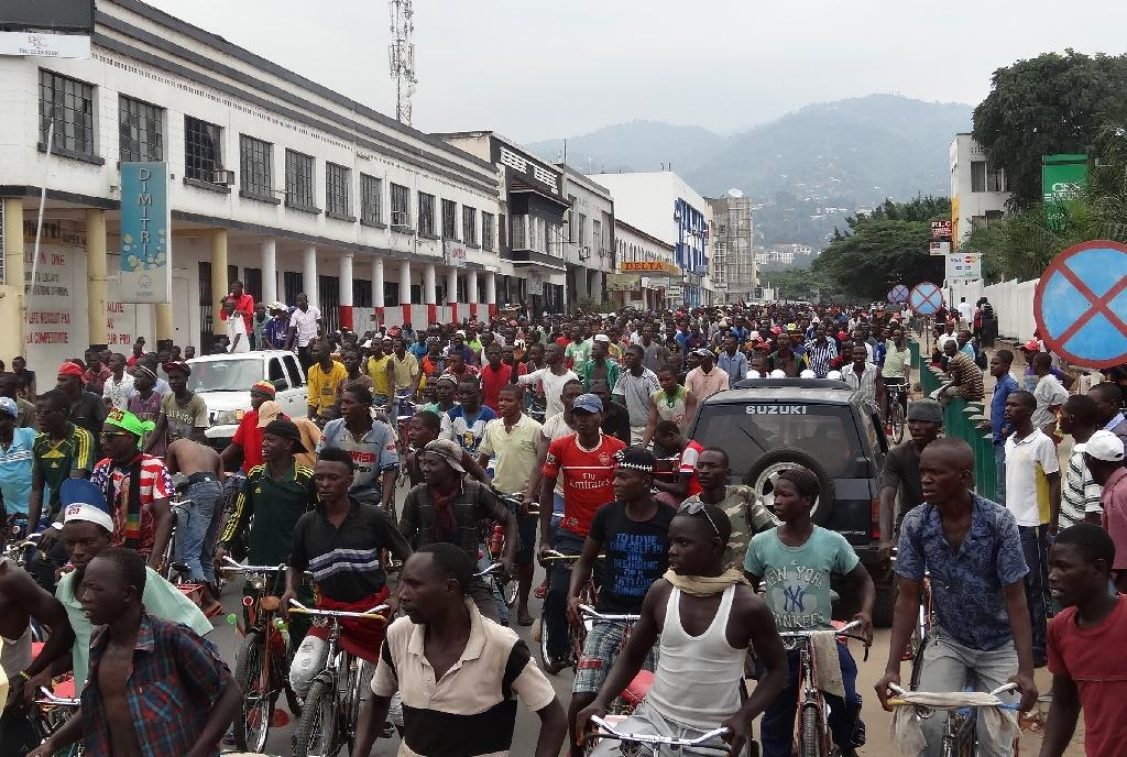 Burundi's government calls anti-opposition rally 'for peace'