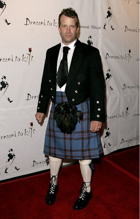 Thomas Jane at the Johnnie Walker Presents Dressed to Kilt at Smashbox Studios in Los Angeles, California on October 14, 2006.