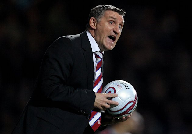 Boro boss Tony Mowbray has dedicated his award to the 'whole club'