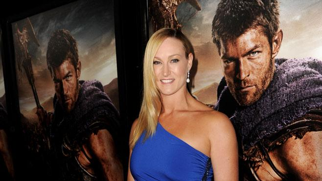 "Premiere Of Starz's ""Spartacus: War Of The Damned"" - Red Carpet: Vanessa Cater"