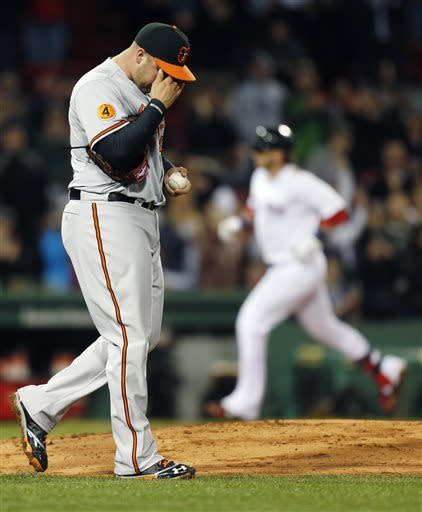Machado's 3-run HR lifts Orioles over Red Sox 8-5