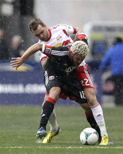 Roy Miller dropped as Red Bulls tie DC United 0-0