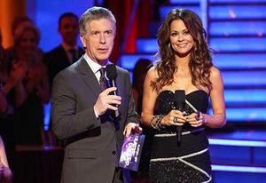 Tom Bergeron, Brooke Burke | Photo Credits: Adam Taylor/ABC