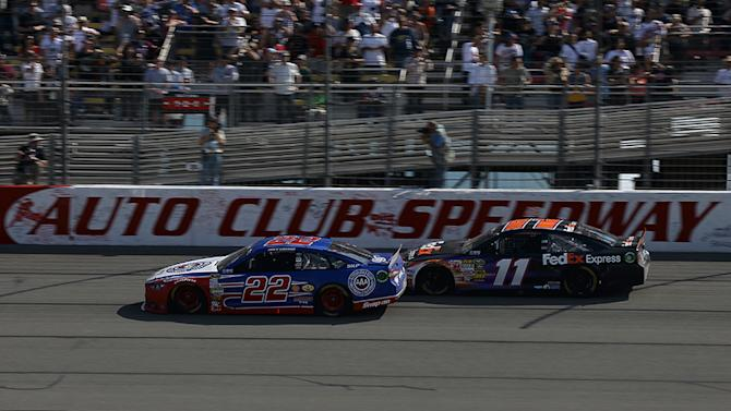Hamlin: California crash was no accident