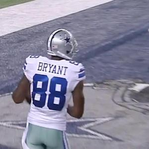 Cowboys wide receiver Dez Bryant and Vikings running back Adrian Peterson are no-shows at offseason conditioning