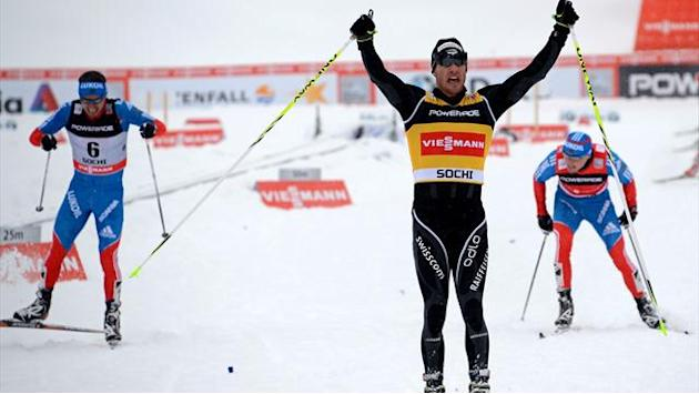 Cross-Country Skiing - Cologna takes first win of season