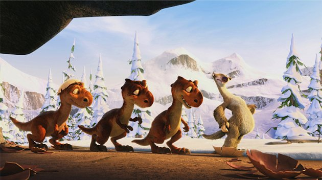 Top 10 Trilogies Gallery 2010 Ice Age Dawn of the Dinosaurs