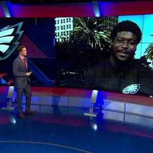 Philadelphia Eagles cornerback Byron Maxwell weighs in on quarterback battle