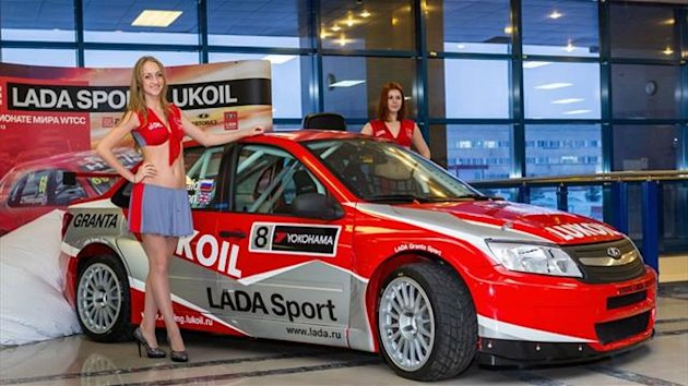 The LADA Granta WTCC car