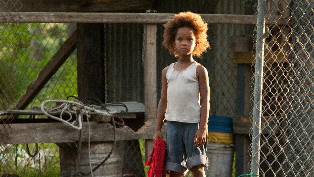 "FILE - This film image released by Fox Searchlight Pictures shows Quvenzhane Wallis portraying Hushpuppy in a scene from, ""Beasts of the Southern Wild.""  Wallis was nominated for an Academy Award for best actress on Thursday, Jan. 10, 2013, for her role in the film.  The 85th Academy Awards will air live on Sunday, Feb. 24, 2013 on ABC.   (AP Photo/Fox Searchlight Pictures, Mary Cybulski)"