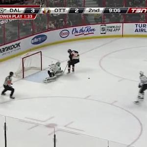 Kari Lehtonen Save on Milan Michalek (10:55/2nd)