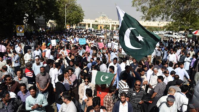 Pakistan's airports have been enmeshed in chaos nationwide since the strike kicked off that grounded international and domestic flights and left thousands of passengers stranded
