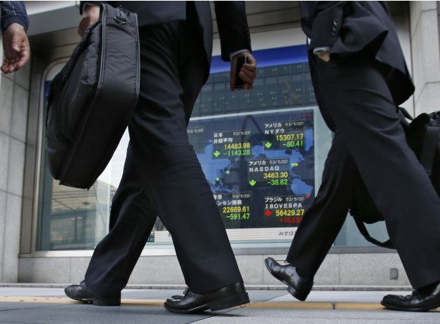 Japan gyrations underline economy's vulnerability
