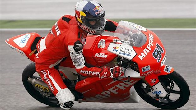German Moto3 rider Jonas Folger of the Mapfre Aspar Team Moto3