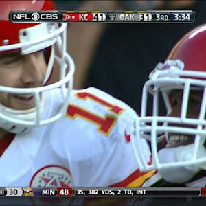 Kansas City Chiefs running back Jamaal Charles 71-yard touchdown reception