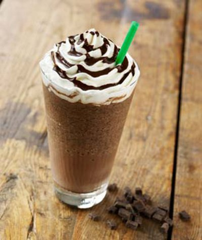 Starbucks Doubly Chocolate Chip Frappuccino