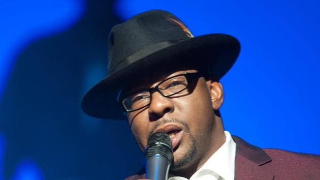 Bobby Brown performs at NJPAC - Prudential Hall in Newark, New Jersey on February 19, 2012 -- Getty Images