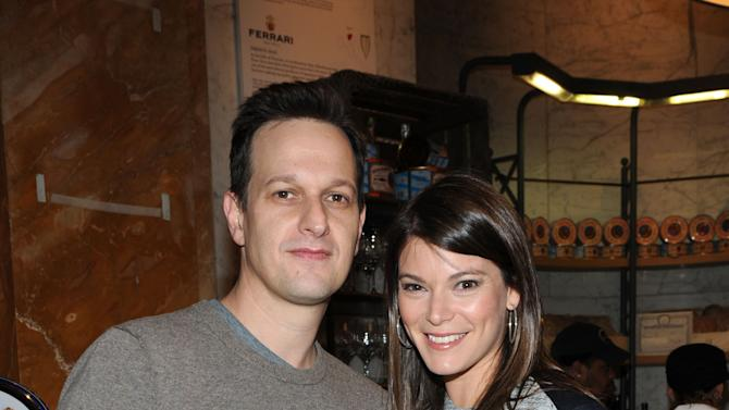 Actor Josh Charles, left, and FOOD & WINE's Gail Simmons celebrate the Mario Batali guest-edited April issue of FOOD & WINE during a party at Eataly in New York, Wednesday, March 6, 2013.  (Photo by Diane Bondareff/Invision for FOOD & WINE/AP Images)