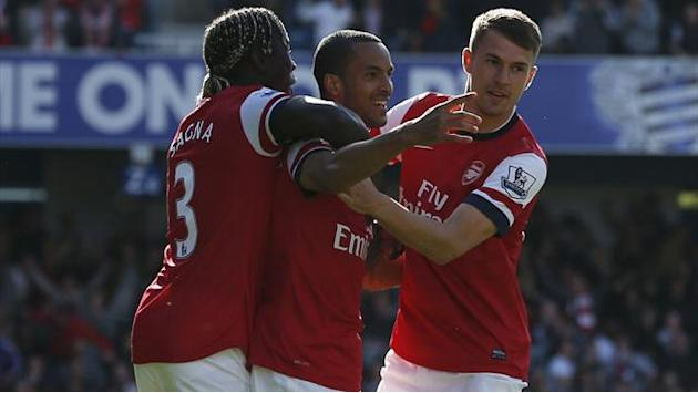 Premier League - All'Arsenal basta il lampo di Walcott: QPR ko