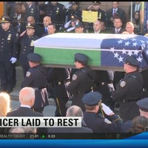 Officer laid to rest 5:00 p.m.