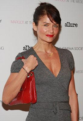 Helena Christensen at a New York City screening of Paramount Vantage's Margot at the Wedding hosted by The Cinema Society and Linda Wells