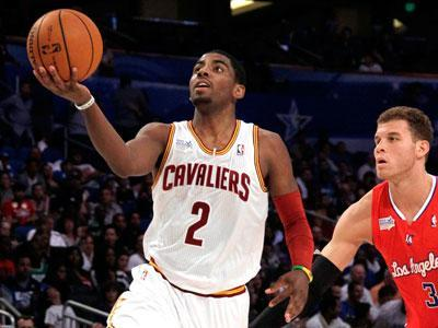 Kyrie Irving named NBA's top rookie
