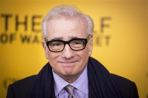 "Director Scorsese arrives for the premiere of the film adaptation of ""The Wolf of Wall Street"" in New York"