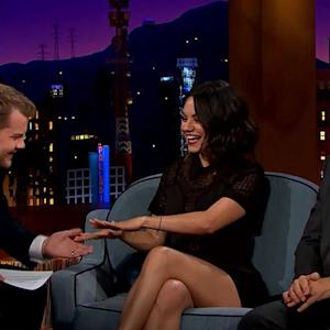 Late Late Show: Mila Kunis confirms marriage?