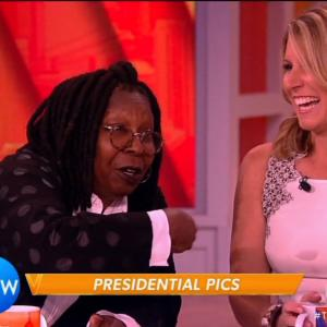 Frustrated Whoopi Jokes About 'The View' Firing Her and Nicolle Wallace