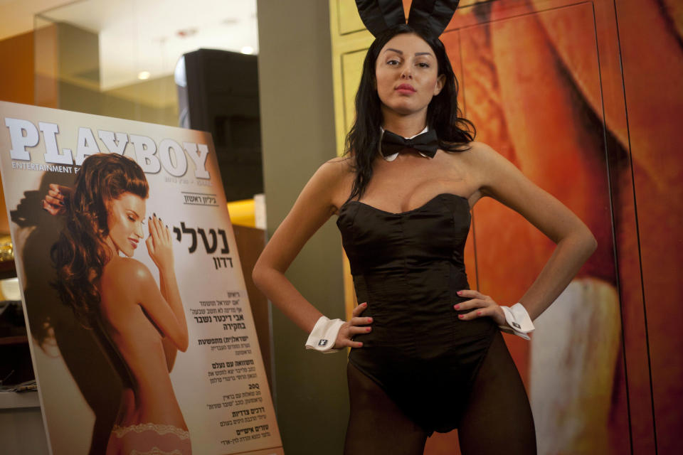 Playboy magazine launches Hebrew language edition