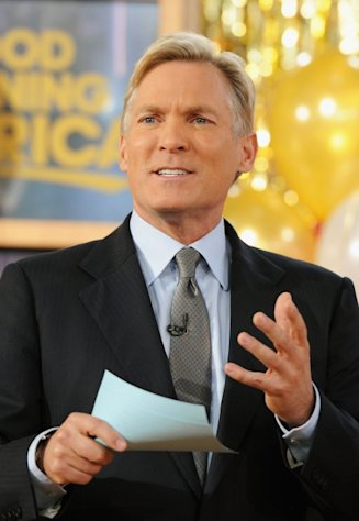 Sam Champion attends ABC&#39;s Good Morning America at ABC News&#39; Good Morning America Times Square Studio on November 28, 2012 -- Getty Images