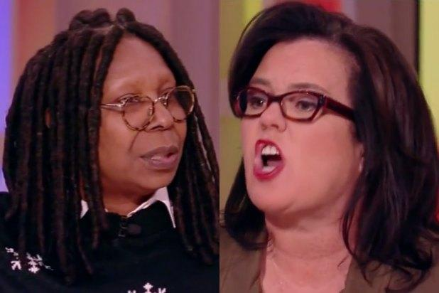 'The View's' Whoopi Goldberg, Rosie O'Donnell Square Off in Shouting Match Over Racism (Video)
