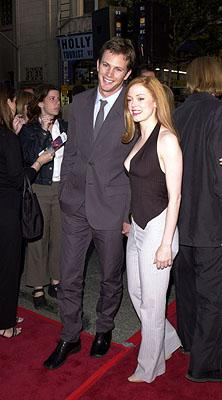 Premiere: Kip Pardue and Rose McGowan at the Hollywood premiere of Warner Brothers' Driven - 4/16/2001