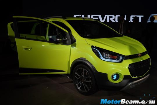 Chevrolet Unveils Beat Activ At 2016 Auto Expo
