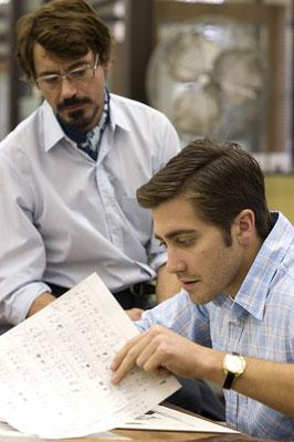 Robert Downey Jr. and Jake Gyllenhaal in Paramount Pictures' Zodiac