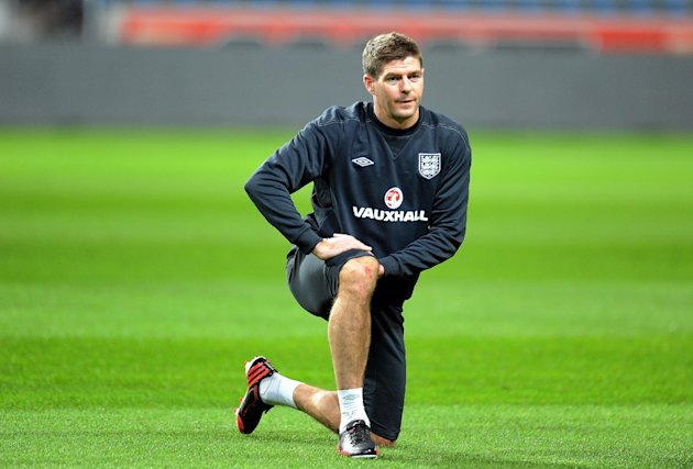 Steven Gerrard is aiming to win more caps for England