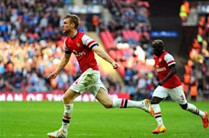 Mertesacker hails Arsenal character after FA Cup triumph