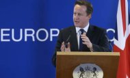EU Summit: Cameron &#39;Committed To Saving Euro&#39;