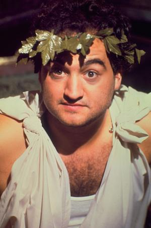 "FILE - This undated photo originally released by Universal Studios Home Entertainment, shows actor John Belushi in a scene from the 1978 film ""Animal House."" When a force of nature like Belushi is lost, 25 years isn't time enough to ease the grief or erase the laughter. (AP Photo/Universal Studios Home Entertainment)"